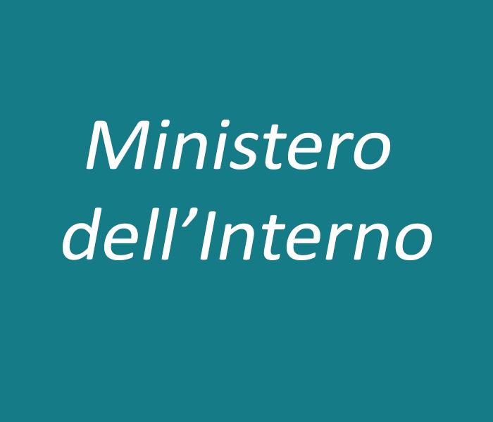 Lavori ministero dell interno demo 2000 s r l for V dipartimento ministero interno